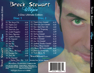 Utopia 2-Disc Edition Back Cover
